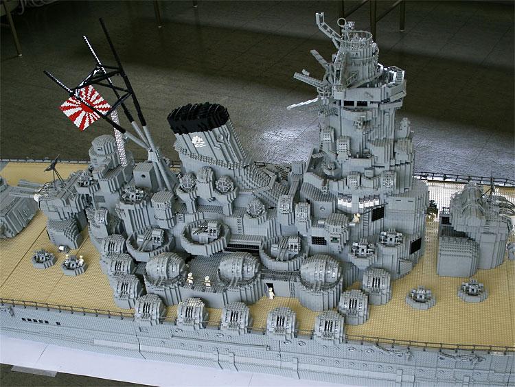 442 Lego Battleship Yamato Is Biggest Lego Ship Ever