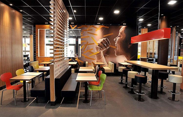 Saída 489 Worlds Biggest McDonald para Abrir em Londres