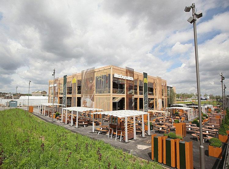 Saída 844 Worlds Biggest McDonald para Abrir em Londres