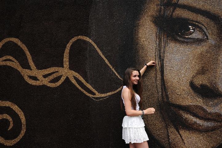 ArkadyKim1 One Million Coffee Beans for One Portrait