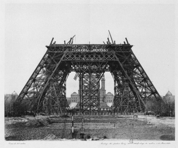 Eiffel Tower 5 Construction Of The Eiffel Tower