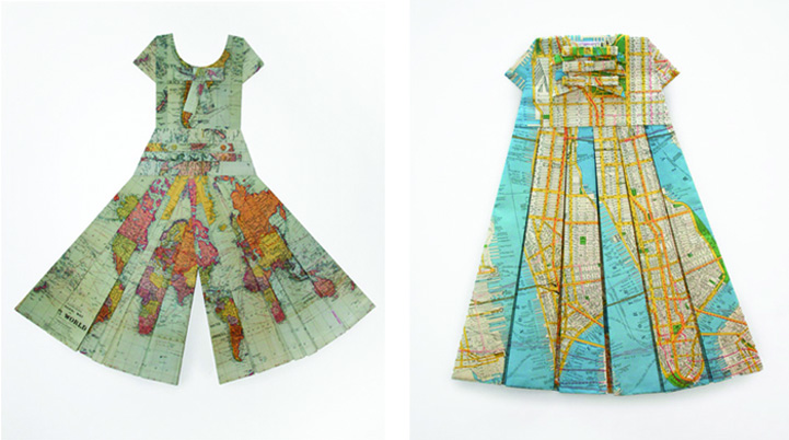 ElisabethLecourt1 Les Robes Géographiques