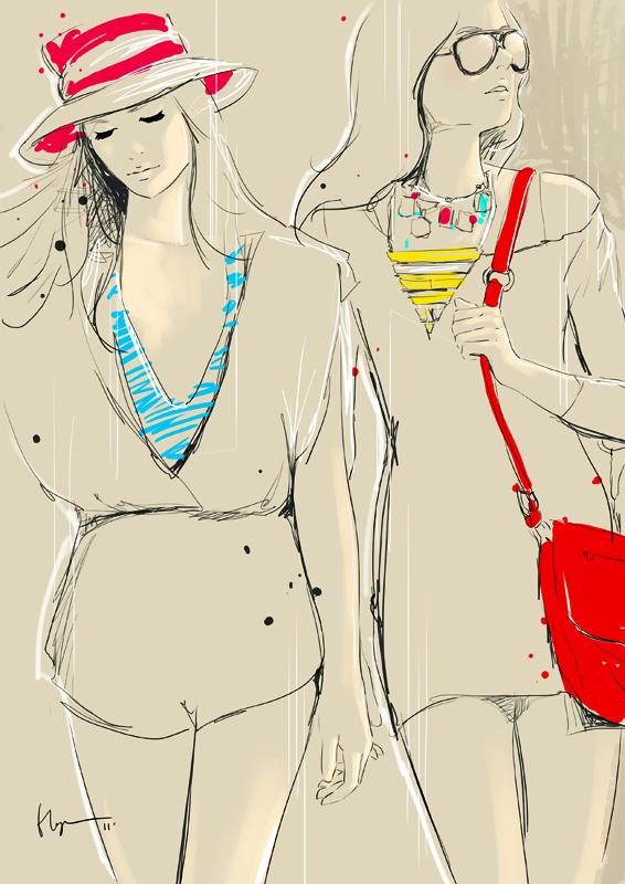 Floyd Grey Fashion Illustrations 27 Floyd Grey