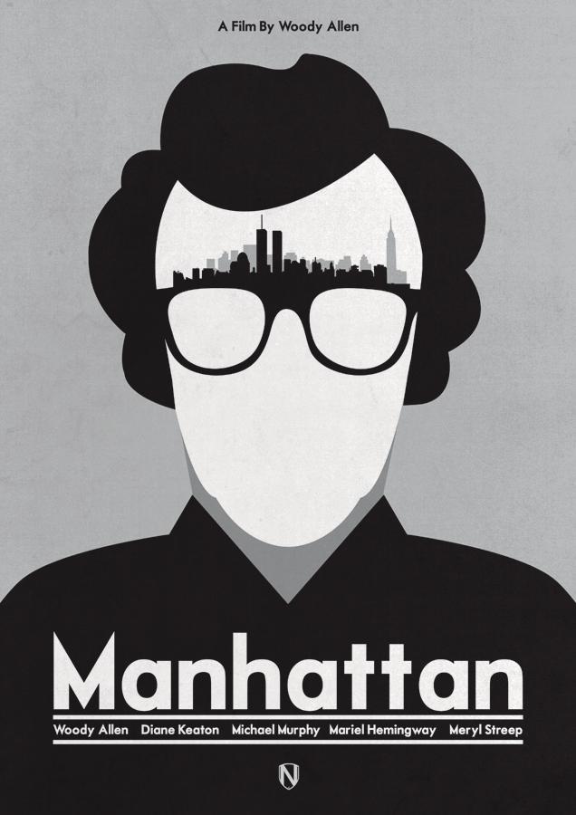 MANHATTAN Manhattan Print by @needledesign