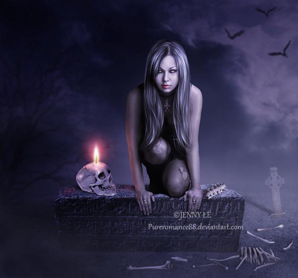 My Peaceful Place 20 Fabulous Examples Dark Digital Art
