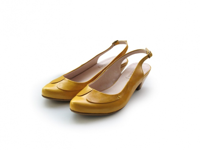 Naama Yellow web Liebling Shoes