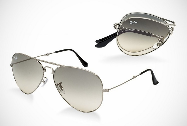 Ray Ban Folding Aviators Sunglasses BonjourLife.com  Ray Ban Folding Aviators Sunglasses