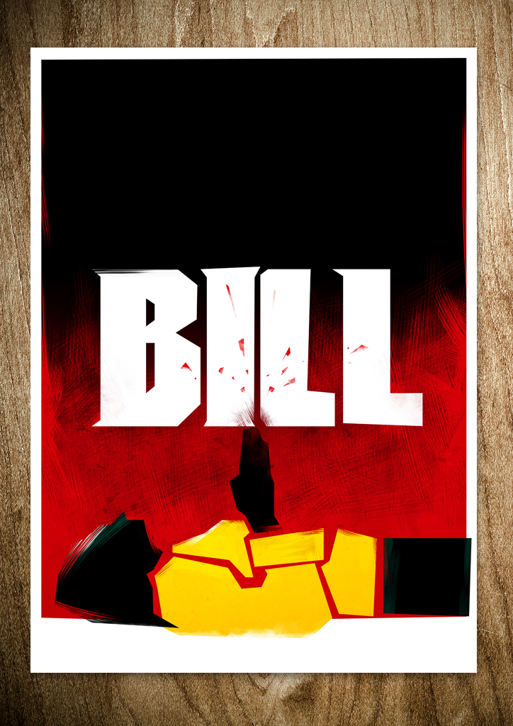 bill KILL BILL   by Rocco Malatesta