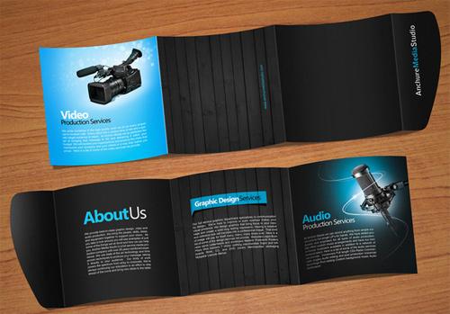 brochure design 02 25+ Brochure Design Examples