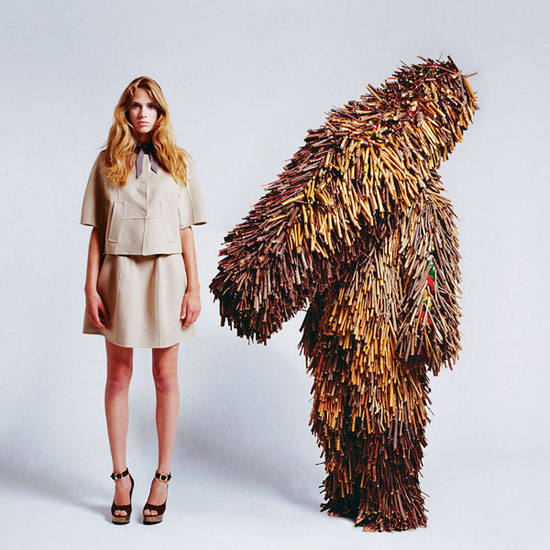creature couture ted sabarese nick cave sculpture Creature Couture by Ted Sabarese & Nick Cave