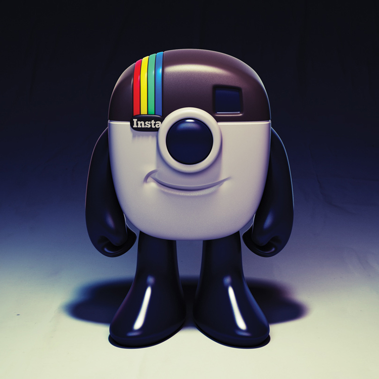 hd a63d6d67a7904801bad6f1c9799a61d4 Instagram Logo Mascot Toy Design