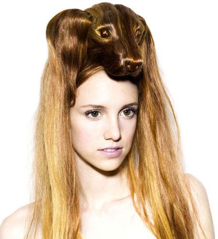 i1a190 Creative Animal Hair Style