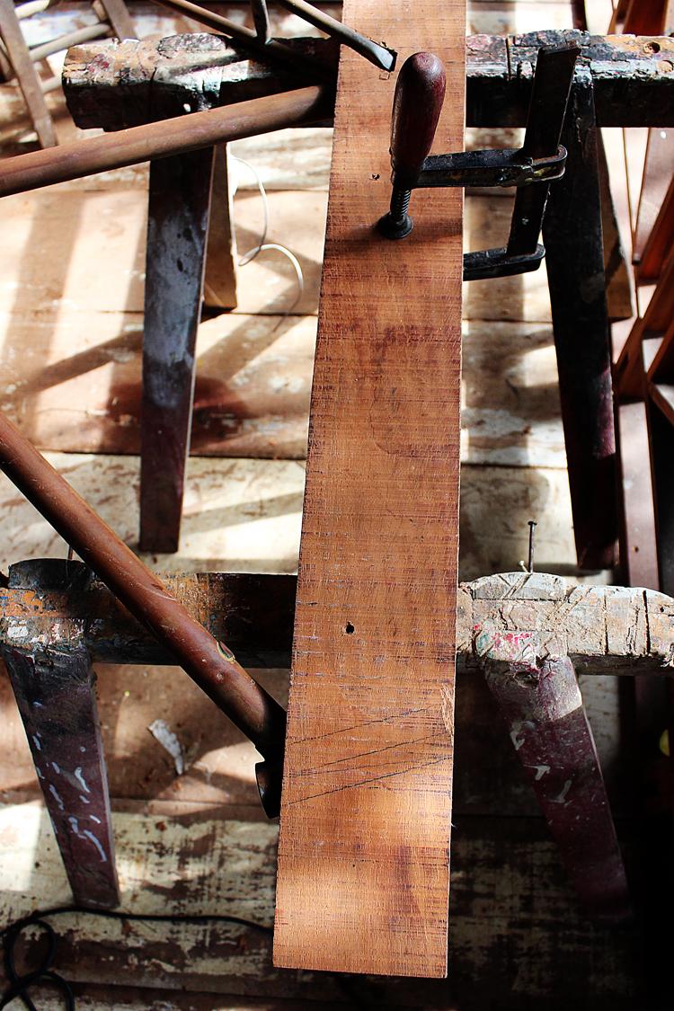 madeira crua CUSTOM BUILT BIKE