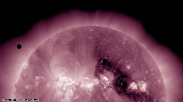 nasavenustransit 03 NASA Transit of Venus 2012   Best Photos plus Clip