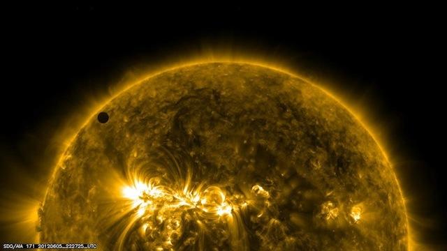 nasavenustransit 04 NASA Transit of Venus 2012   Best Photos plus Clip