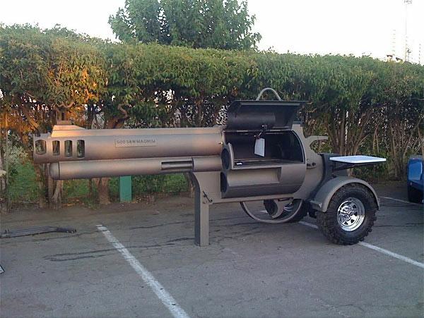 smoking gun grill Revolver BBQ Grill