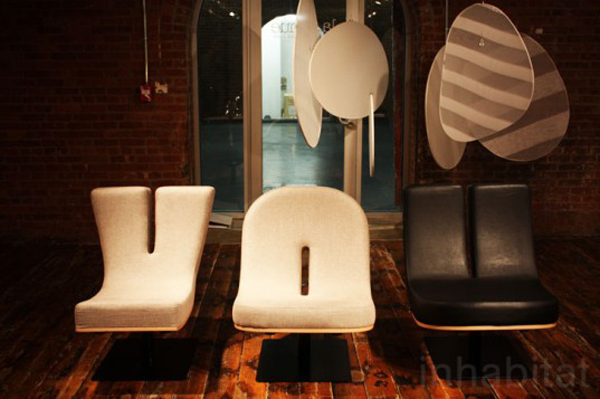 tabisso 1 Typographic Chairs