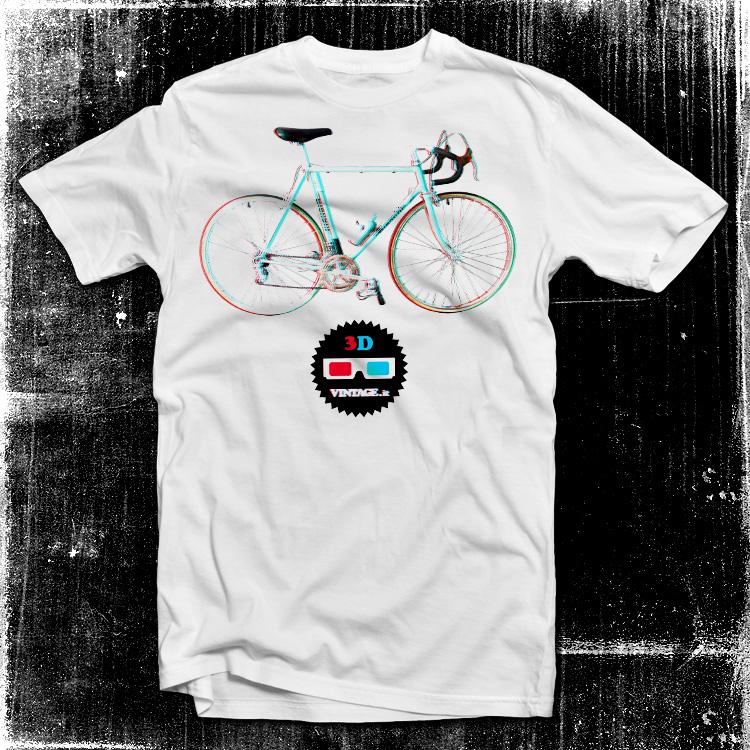 vintage 2ruote bianchi Bianchi bike 3D t shirt