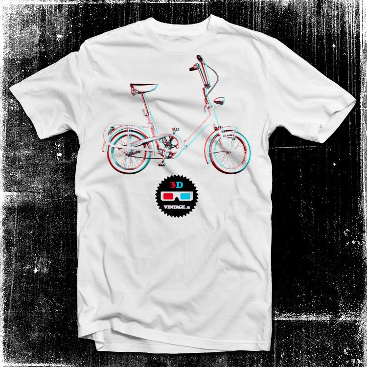 vintage 2ruote graziella Graziella bike 3D t shirt