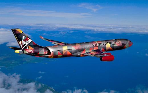 Virgin Atlantic Plane Design by Access