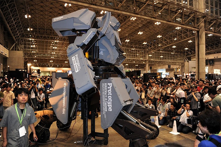 1231 Rideable «Kuratas» Robot Mecha Unveiled at Wonder Festival