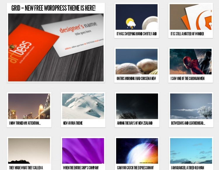 31.free wordpress themes 2012 750x582 43 Free Premium Quality WordPress Themes You Might Not Have Seen Yet