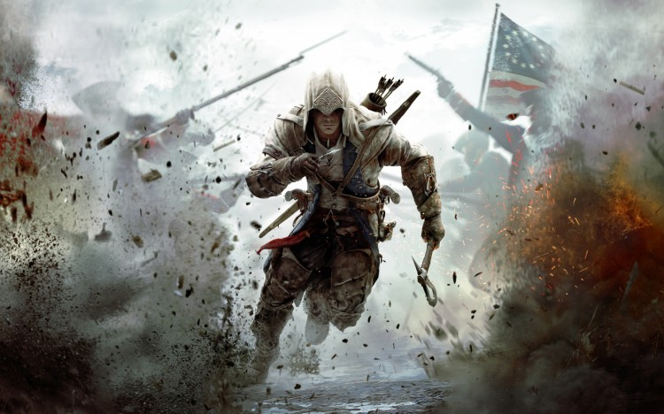 ASSASSINS CREED 3 2012 GAME Wallpaper 750x468 35 Latest HD Game Wallpapers For Download