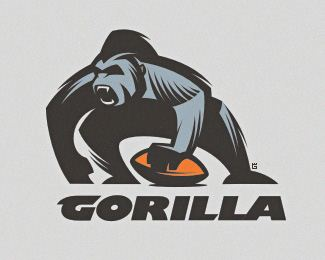 Gorilla by Gal 30 Beautiful Logo Inspired By Animals