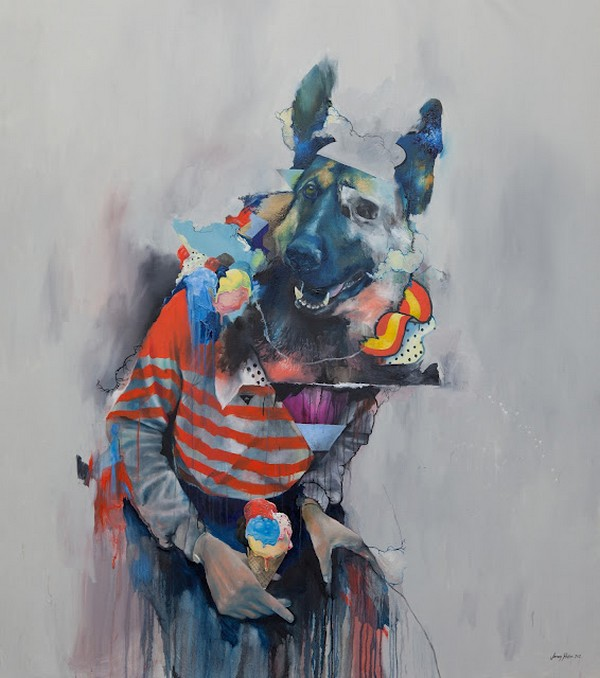 JR1 Paintings by Joram Roukes