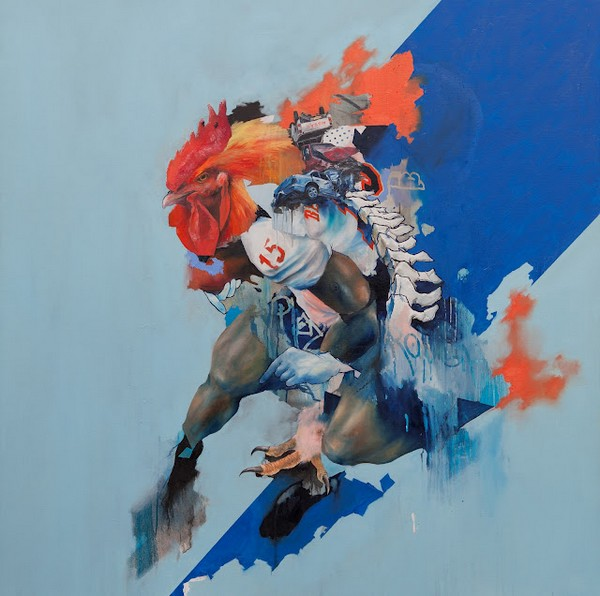 JR2 Paintings by Joram Roukes
