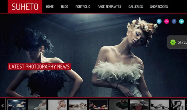 Suheto 01 750x441 50+ Free and Premium WordPress Themes from June