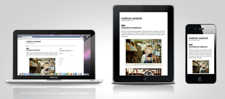 codium extend mokup Codium Extend   Minimalist and Responsive WordPress Theme