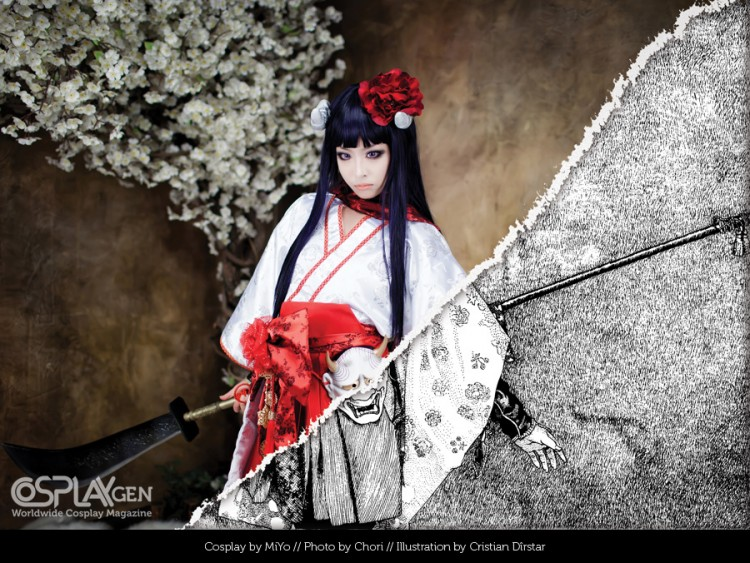 cosplaygen foto to illustration 02 750x563 Cosplay GEN #05   seven remixed photos as illustrations