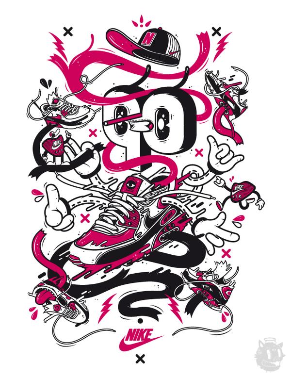 i1a141 NIKE x DXTR / Spring Summer 2012