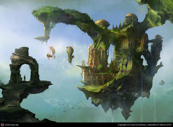 i1a270 Amazing Imaginary Scenes Concept Art