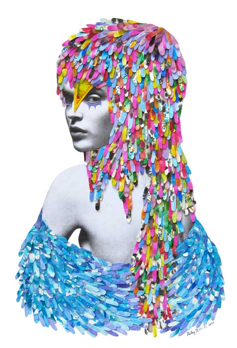 i1a93 Colorful Illustrations and Collages by Niky Roehreke