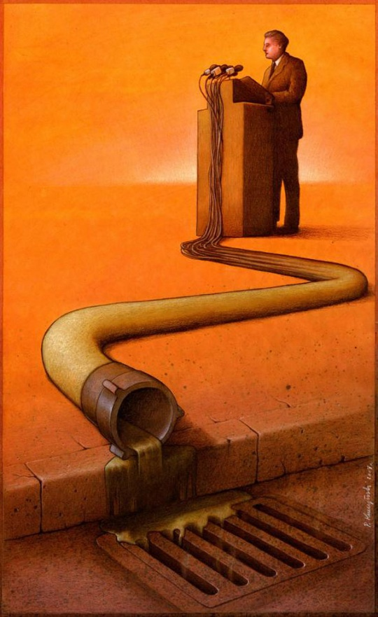 i1a96 Creative Satirical Illustrations by Pawel Kuczynski