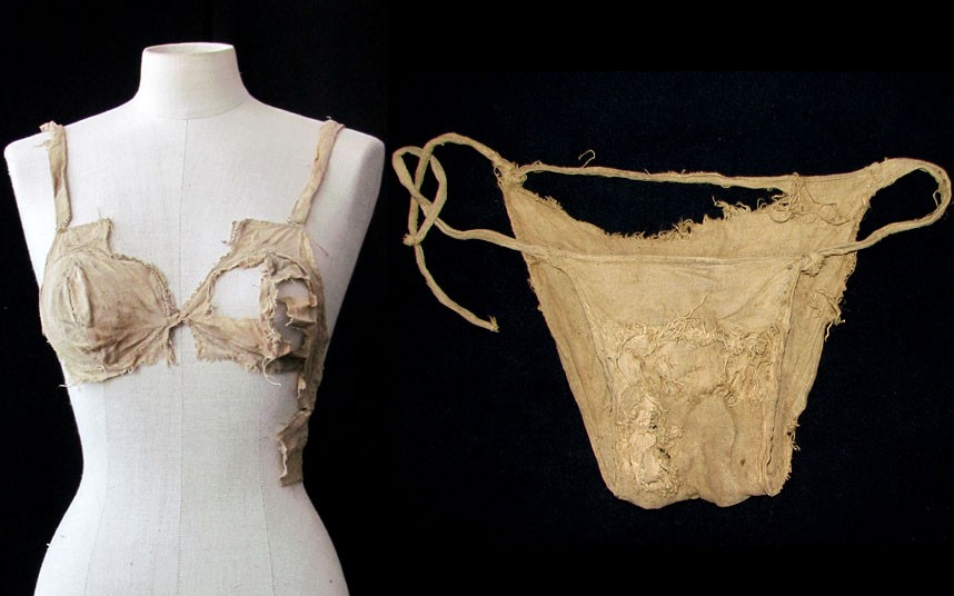 Bra and Panty used in medival period