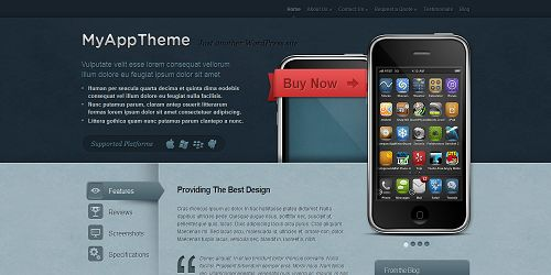 myapp Best WordPress Themes Created by ElegantThemes