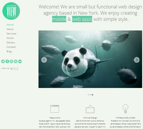 premium portfolio wordpress themes 02 25+ Premium Portfolio WordPress Themes