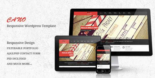 responsive portfolio wordpress themes 03 Premium Responsive Portfolio WordPress Themes