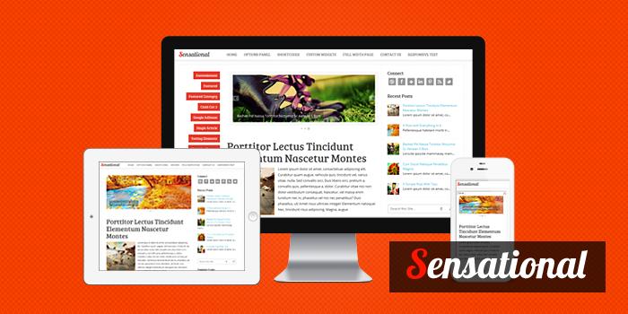 sensational11 Sensational Responsive Magazine WordPress Theme