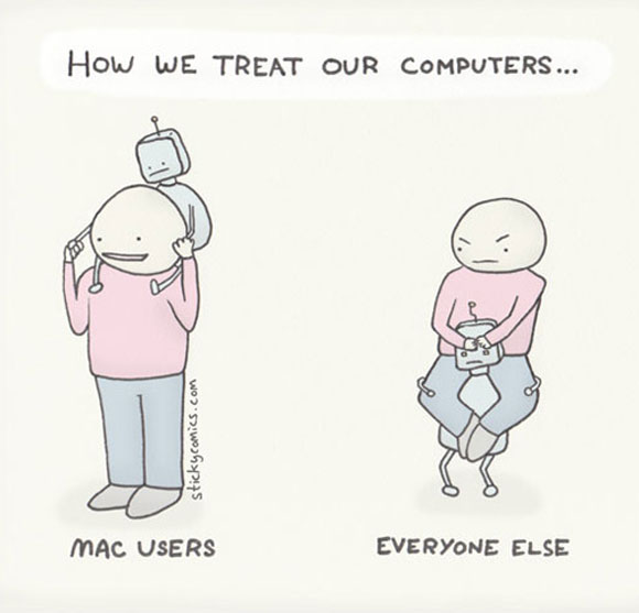 treat computers How we treat our computers