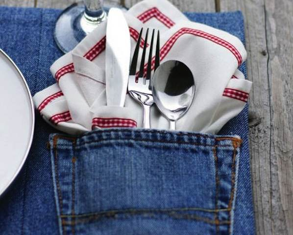 153091002486230279 97c0d67f8cfa2 Denim Pocket Placemat