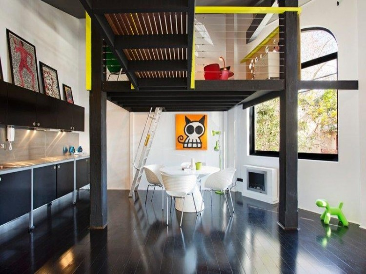 213 750x562 New York style warehouse apartment