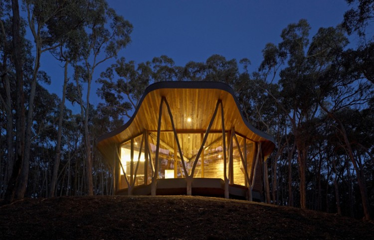 2 Trunk House by Paul Morgan Architects 750x482 Trunk House by Paul Morgan Architects