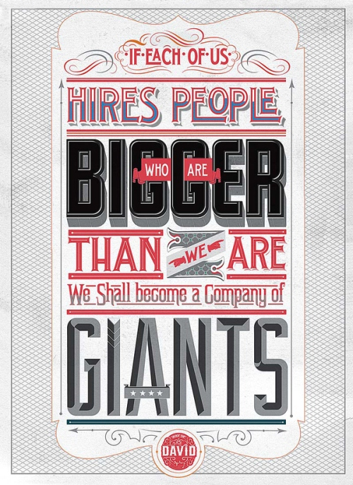 3cc651dab9fd146c63249abb9379a135 20 Motivational Typography Posters to Inspire You at Work