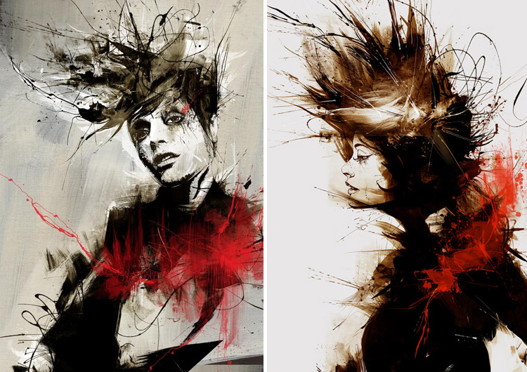 7514 Illustration Works by Russ Mills