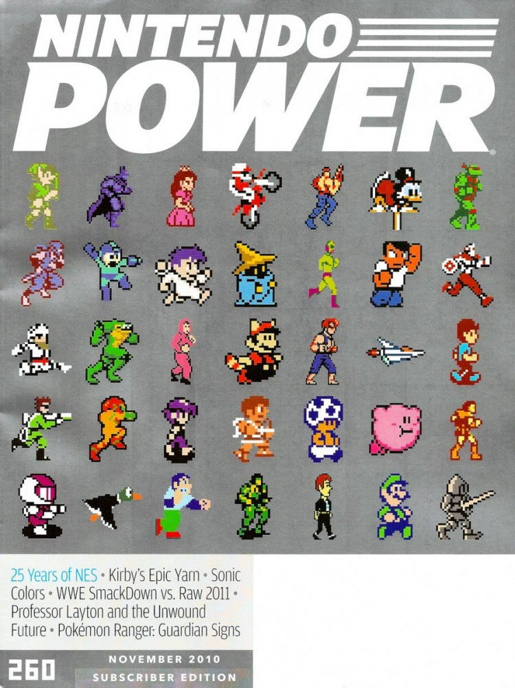 8 bit art cover nintendo power video game magazine 750x1002 Best Nintendo Power Magazine Covers
