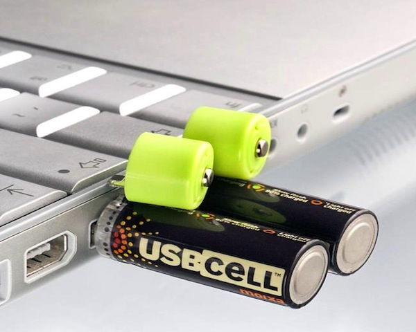 AA Rechargeable Batteries Charged Via USB1 Rechargeable Batteries Charged Via USB